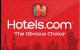 Hotels.com - $25