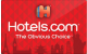 Hotels.com - $50